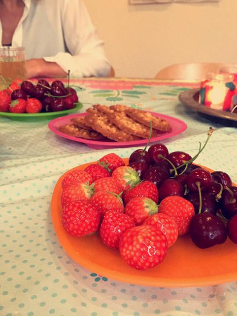 Inloop, fruit